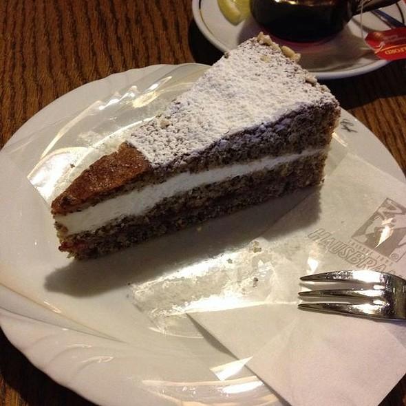 Torta Al Grano Saraceno E Te Alla Rosa Di Bosco @ Pasticceria Birgit