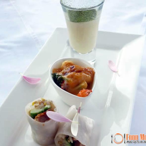 Mixed Plate Appetizer @ Acacia Modern Japanese Restaurant