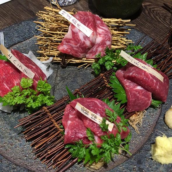 Horse Meat Sashimi @ 馬菜