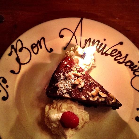 Chocolate Cake - French Hound Brasserie, Leesburg, VA