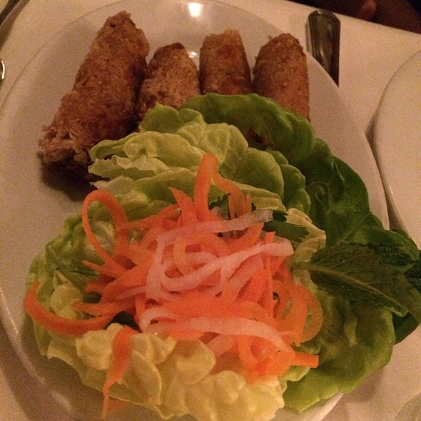 Crispy Spring Rolls - Le Colonial NYC, New York, NY