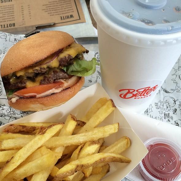 Double Cheeseburger Combo @ Better Burger