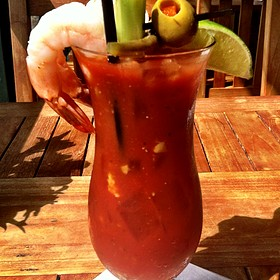 Loaded Bloody Mary - Fish Hopper, Monterey, CA