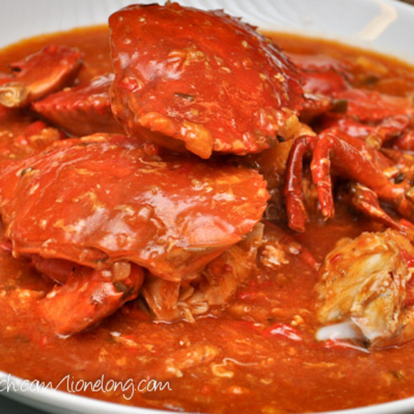 Chili Crabs @ chyniis restaurant