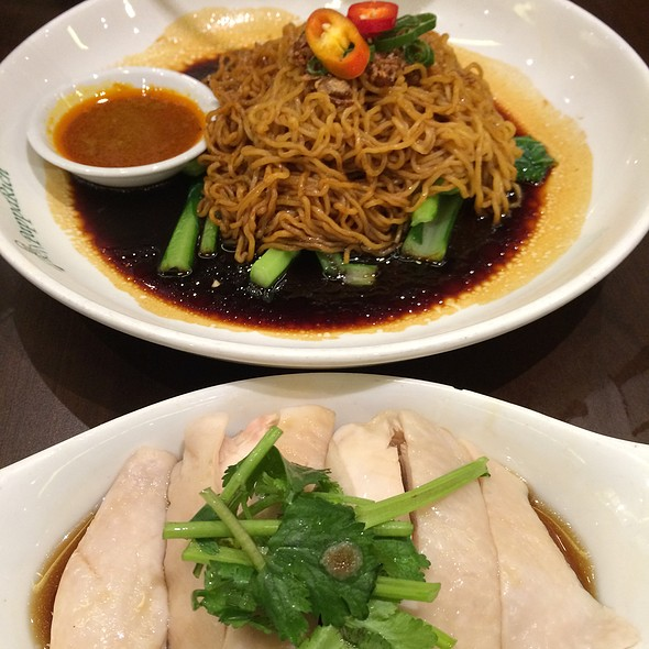 Dry Curry Mee With Steamed Chicken @ PappaRich Broadway
