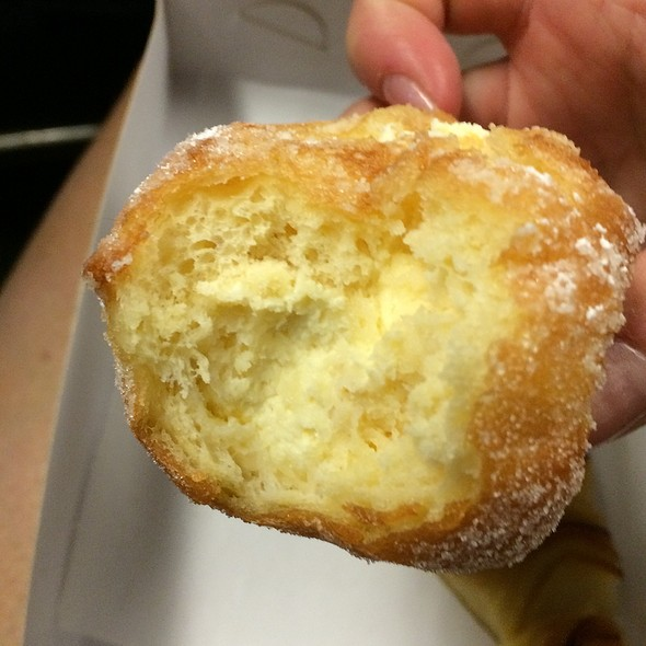 Lemon and Ricotta Donut @ Flour & Stone