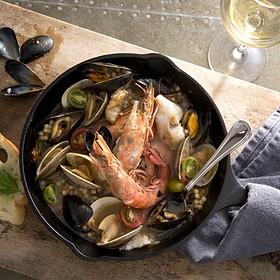 Fisherman's Stew - Pacci Italian Kitchen & Bar, Savannah, GA