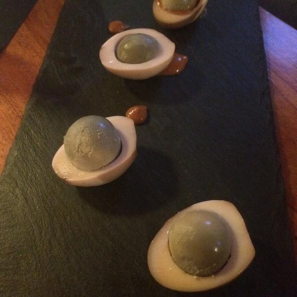 Solæg (Salt Pickled Eggs) @ Best Western Hotel Europa
