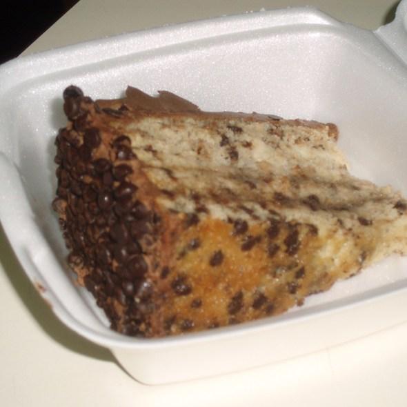 Banana chocolate chip cake @ Napolatano's Restaurant