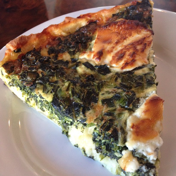 Quiche Spinach & Goat Cheese