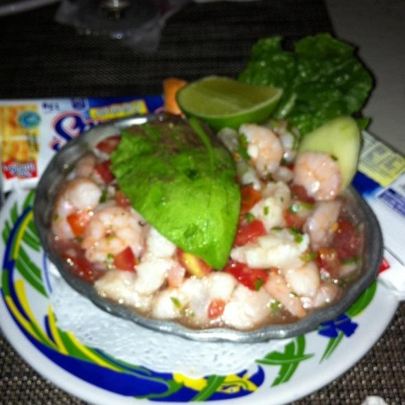 Mixed Seafood Ceviche at la palapa - royal mayan