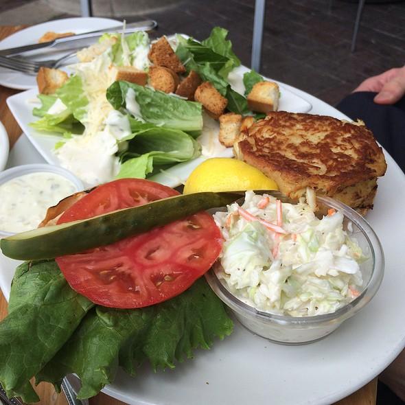 Crabcake Club Sandwich - Nick's Riverside Grill, Washington, DC