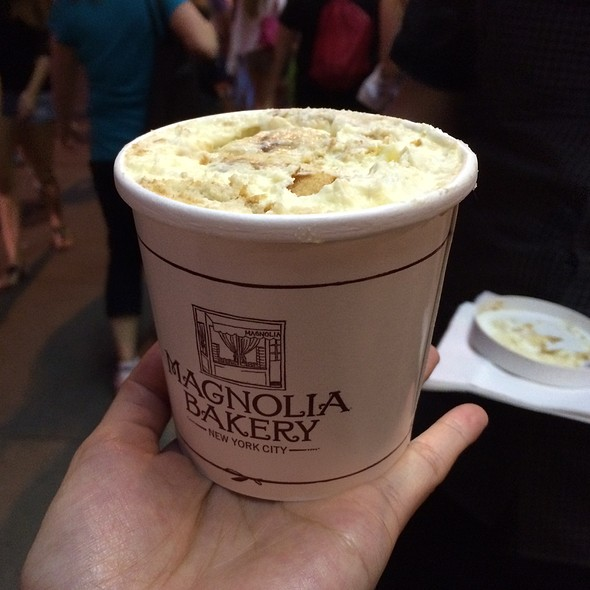 Banana Pudding @ Magnolia Bakery