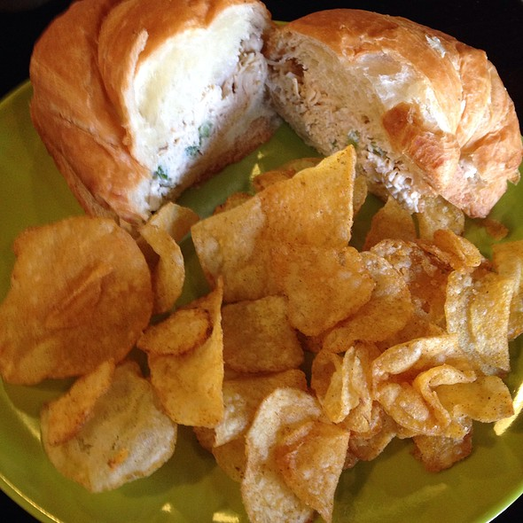 Chicken Salad Croissant @ Southern Grounds