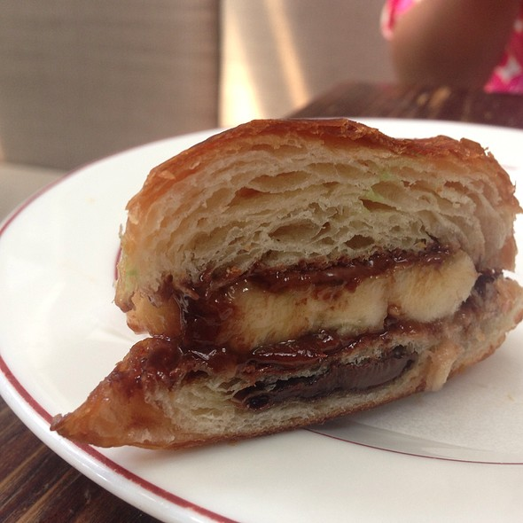 Banana And Nutella On Crossaint @ House of Small Wonder