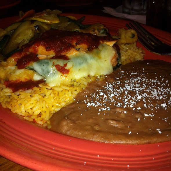 Chile Relleno @ Cozymels costal mex
