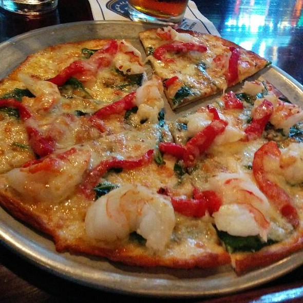Spicy Shrimp Pizza