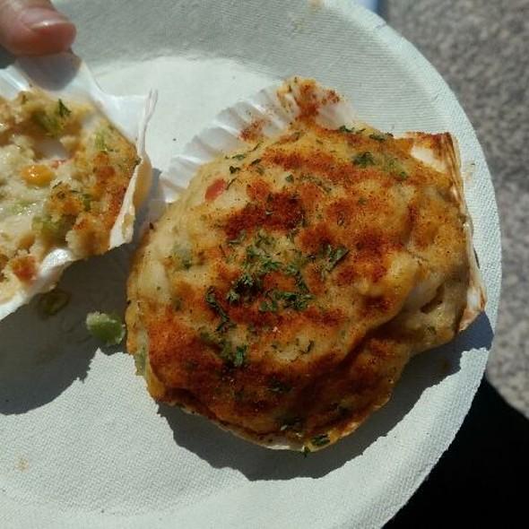 Stuffed Scallop Shell @ Menemsha Fish Market