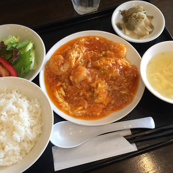 Shrimp Chilli @ 幸楽