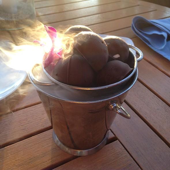 Chocolate Bon Bons - 'Ulu Ocean Grill and Sushi Lounge, Kaupulehu, HI