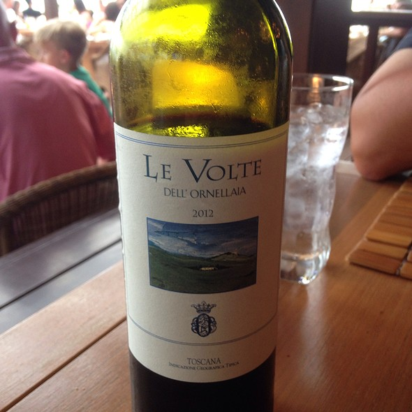 Le Volte Igt 2012 - Beach Tree Restaurant, Bar and Lounge, Kaupulehu, HI