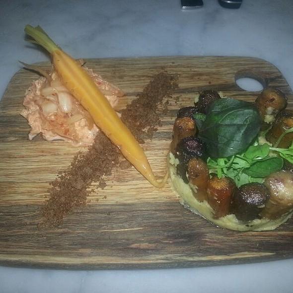 Smoked Carrots And Kimchi