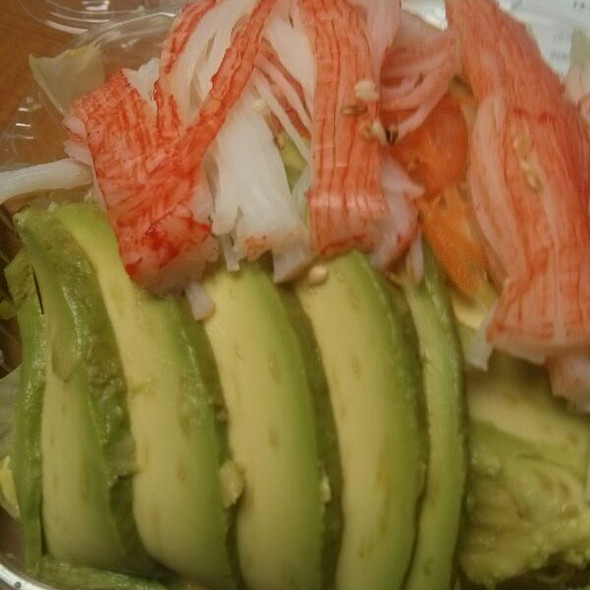 Crab Avocado Salad @ Mino Japanese Restaurant & Sushi Bar