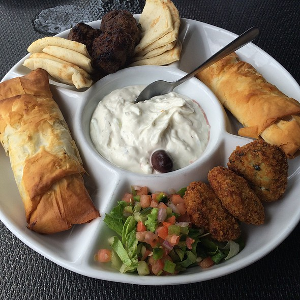 Mezze Sampler @ Ammos Authentic Greek Cuisine