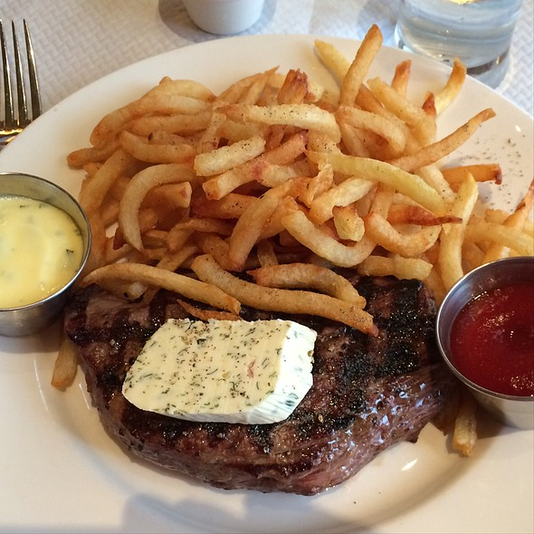 Steak Frites @ Balthazar Restaurant