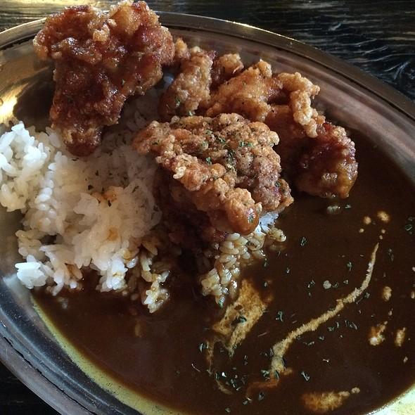 Deep Fried Chicken Curry @ カレー屋 アカマル