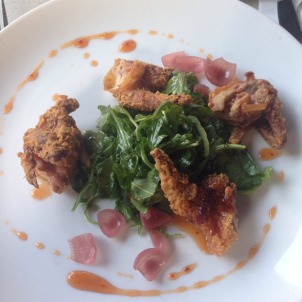 Fried Quail @ Monarch Bar And Lounge Hotel Zaza