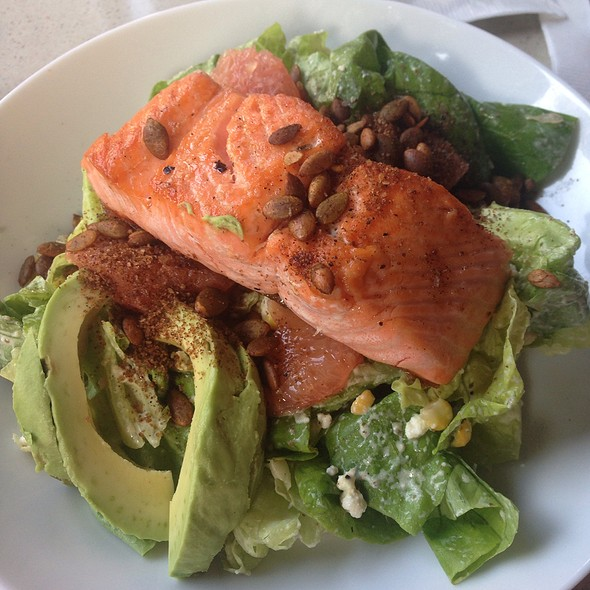 Salmon  Salad @ Monarch Bar And Lounge Hotel Zaza