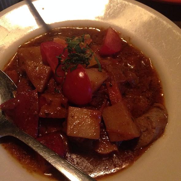 Special Goat Curry W/ Rice @ La Merenda