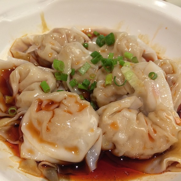 Pork Dumplings In Spicy Sauce @ M&C. Duck