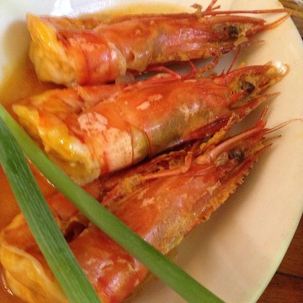 Buttered Garlic Shrimps