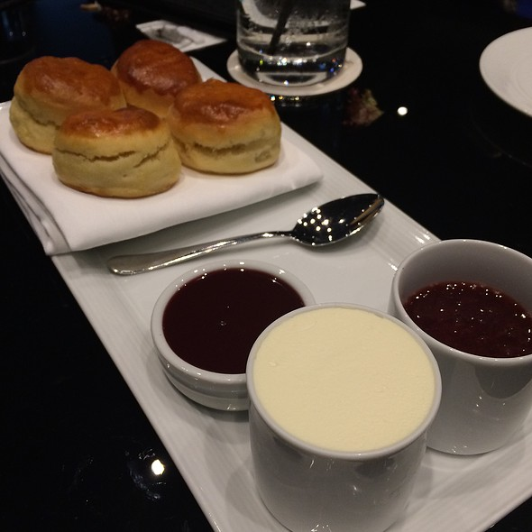 Scones With Jam And Cream @ The Westin Sydney