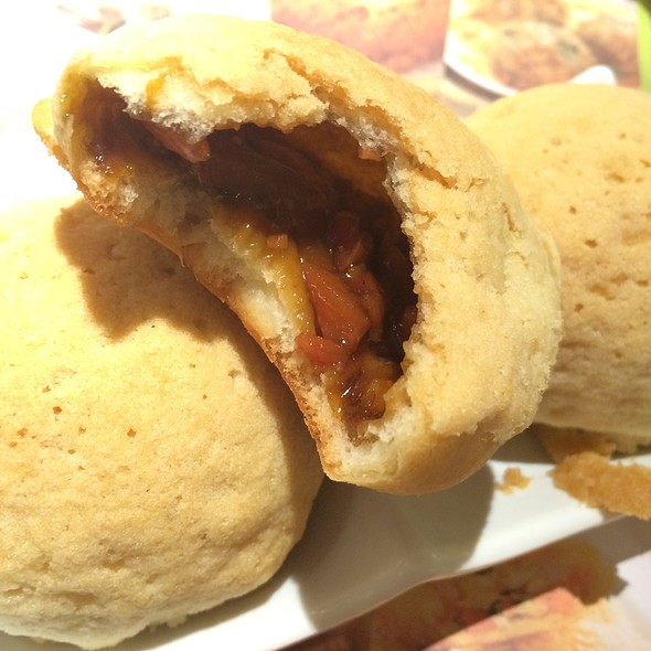 Baked Bun with BBQ Pork @ Tim Ho Wan