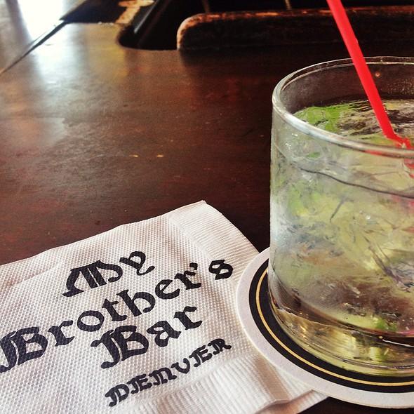 Hendricks Gin And Tonic @ My Brother's Bar