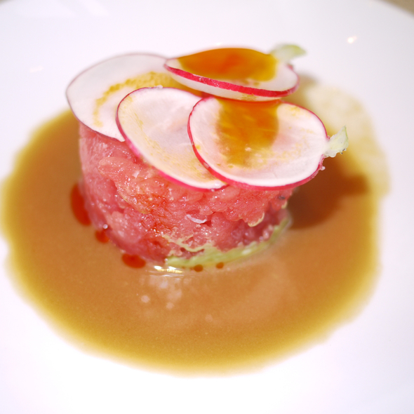 Tuna Tartare @ Nougatine at Jean Georges