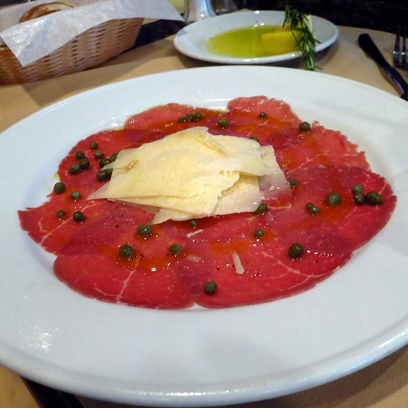 Beef Carpaccio @ Topo Gigio Ristorante