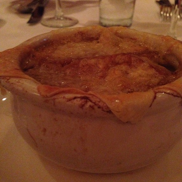 French Onion Soup - Aquitaine Bis, Chestnut Hill, MA