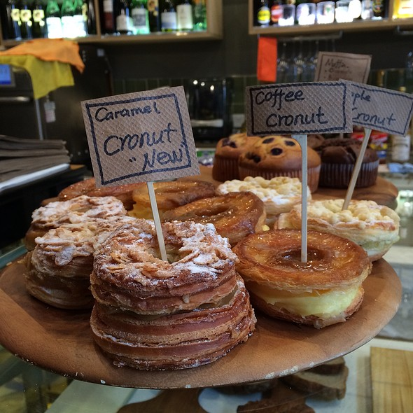Cronuts @ Chambers Coffee House