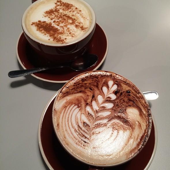 Cuppacino @ Chambers Coffee House