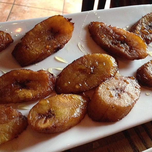Fried Plantains With Honey - Mesa Modern Mexican, Easton, PA