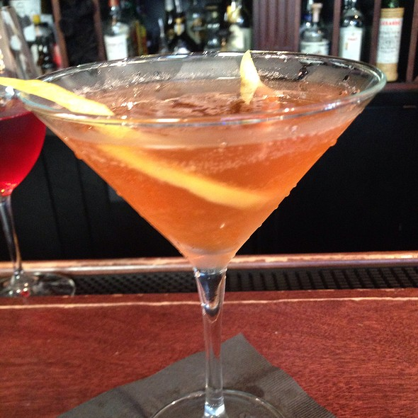 Plymouth Ginger Martini - Avenues Bistro - Brookside, Kansas City, MO