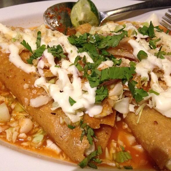 Tacos Dorados De @ Baja Oyster and Sushi Bar