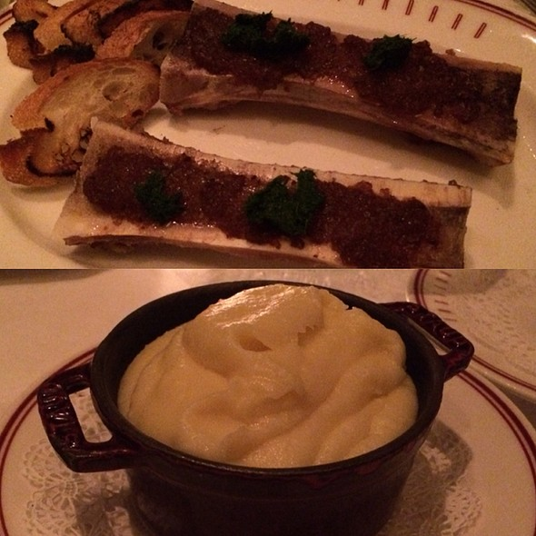 Bone Marrow & Potato Puree - Eastern Standard, Boston, MA