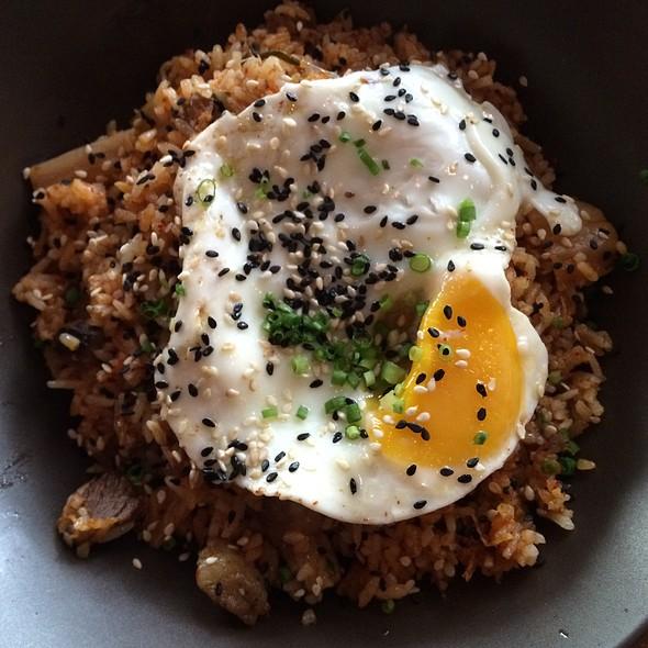kimchi rice @ Wildflour Cafe + Bakery, Salcedo Village ,Makati