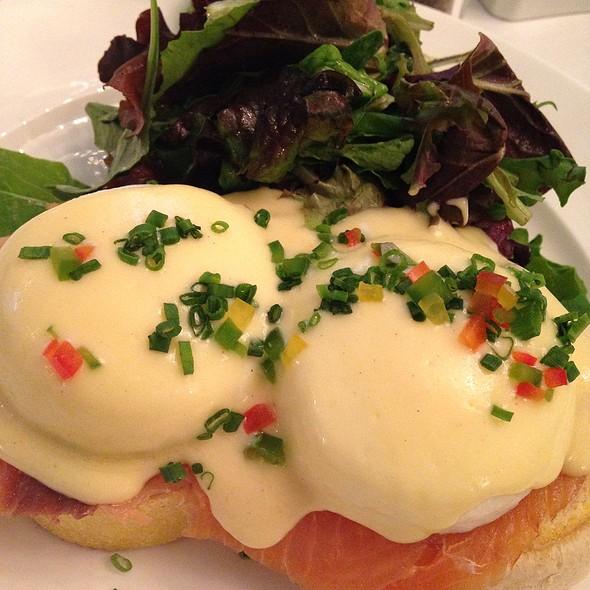 Smoked Salmon Eggs Benedict @ Sara Beth's