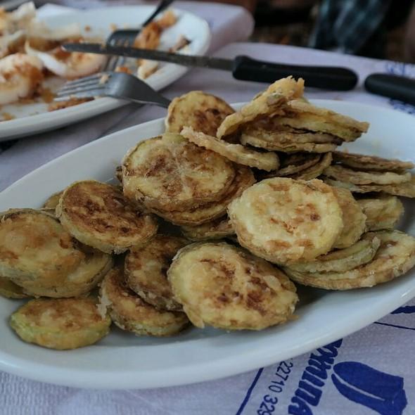 Fried Zucchini @ Chios